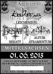 Flyer für NS-Black-Metal-Konzert