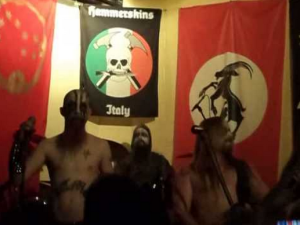 """Goatmoon"" beim zweiten ""Hot Shower""-Konzert 2013 in Mailand"